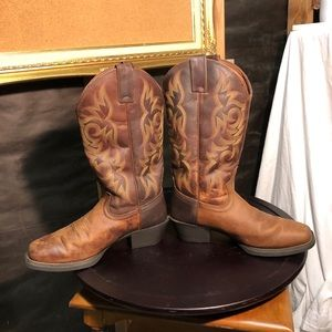 Justin Western Boots -style 2552 - men's size 8D